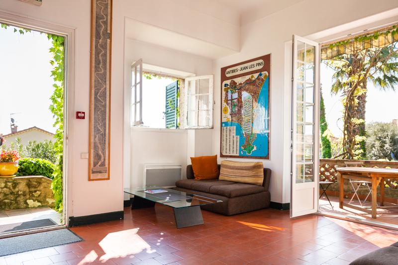 Séjour linguistique France, Antibes - Centre International d'Antibes - Salon