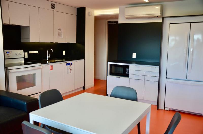 Sprachaufenthalt Kanada, Toronto - CES Toronto - Accommodation - Residenz Tartu College - Küche