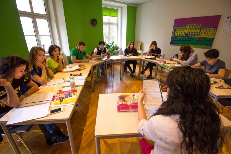 Sprachaufenthalt Österreich, Wien - Actilingua Academy Vienna - Lektionen