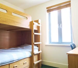 Sprachaufenthalt Engaland, Canterbury - Stafford House Canterbury - Accommodation - Summer Residence - Schlafzimmer