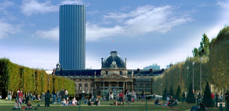 sprachaufenthalt frankreich paris montparnasse turm
