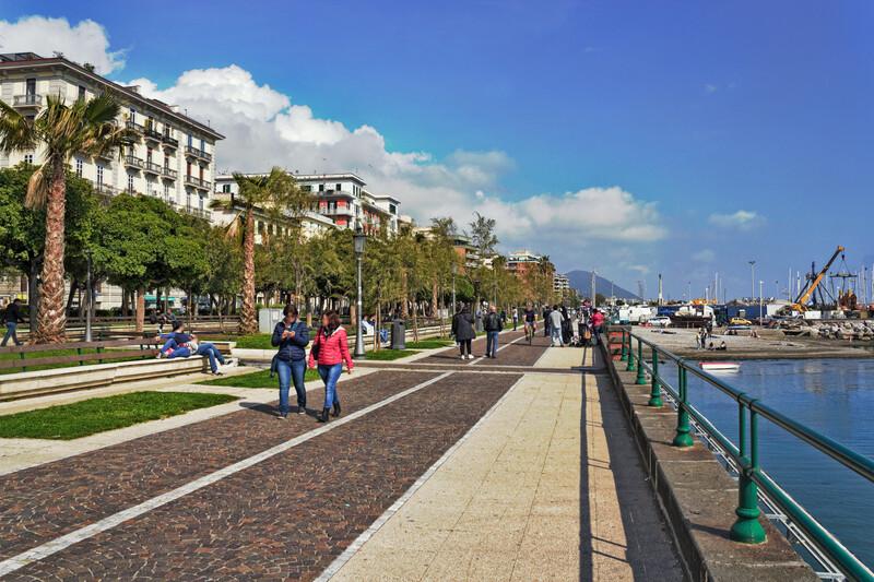 Séjour linguistique Italie, Salerno - Promenade