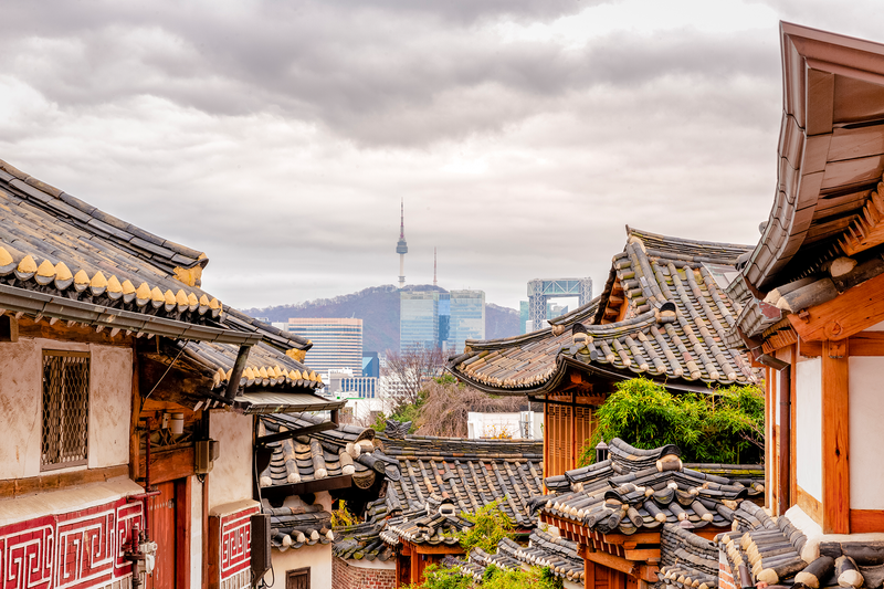 Séjour linguistique Corée du Sud - Seoul - Skyline
