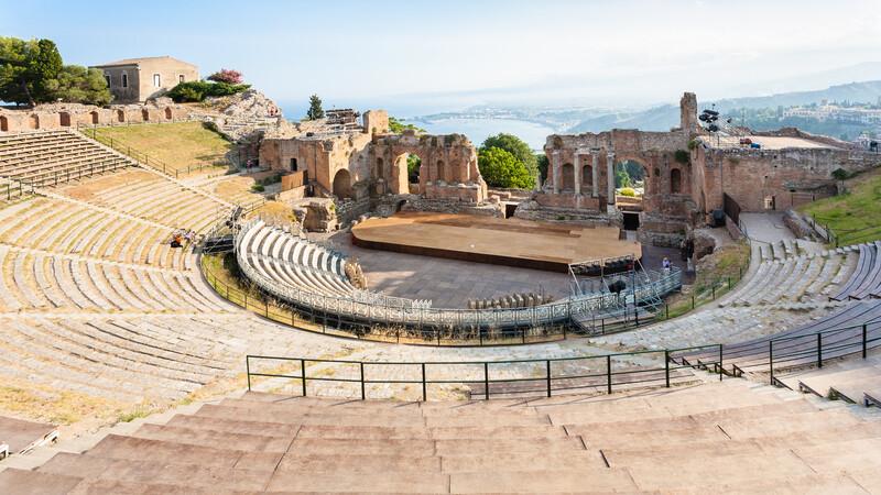 Sprachaufenthalt Italien, Taormina - Teatro Greco