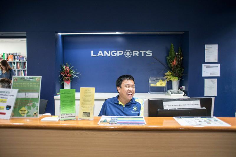 Sprachaufenthalt Australien - Gold Coast - Langports Gold Coast - Rezeption