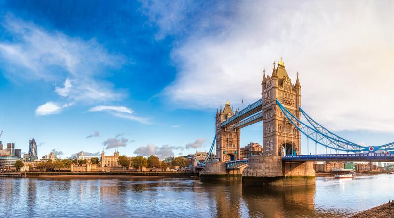 Sprachaufenthalt England, London - Tower Bridge