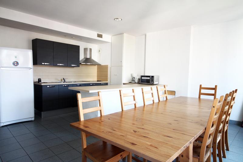 Sprachaufenthalt Frankreich, Nizza - Azurlingua - Accommodation - Residenz Central Campus - Küche