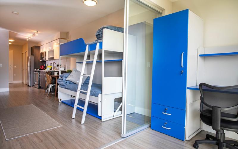 Sprachaufenthalt Kanada, Vancouver - St Giles Vancouver - Accommodation - GEC VIVA Tower - Schlafzimmer