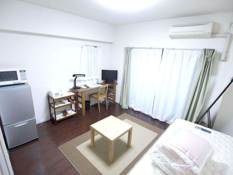 Sprachaufenthalt Japan, Kyoto - Genki Japanese School Kyoto - Accommodation - Apartment1 - Wohnzimmer