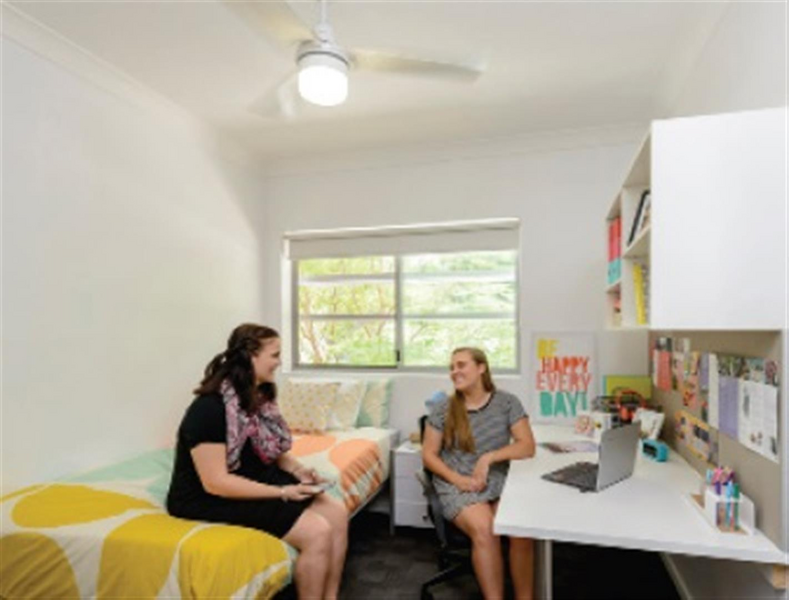 Sprachaufenthalt Australien, Brisbane - Langports Brisbane - Accommodation - Apartment Student Village - Zimmer