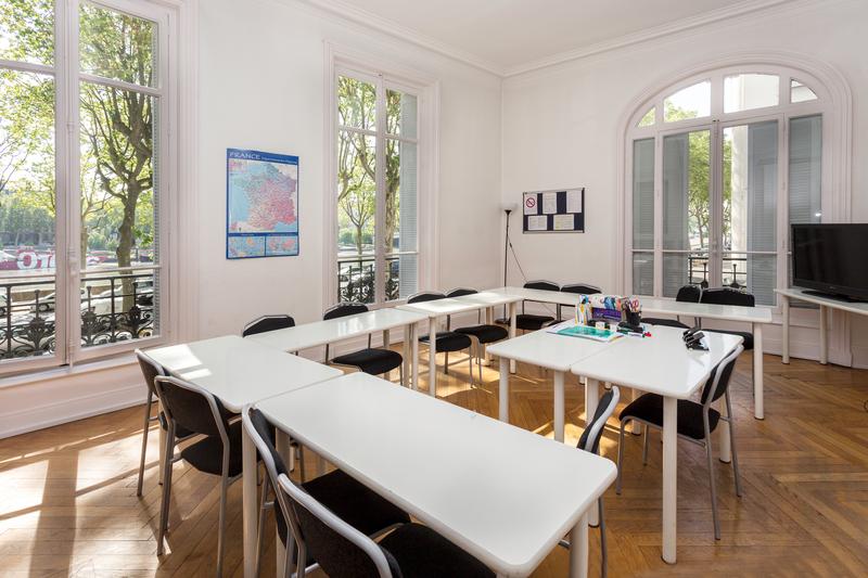 Séjour linguistique France, Lyon - Alpadia Language School Lyon - Salle de classe