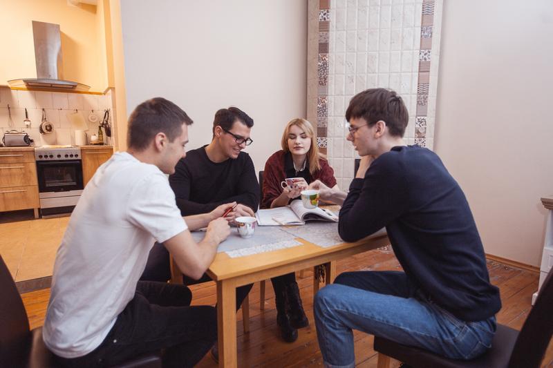 Sprachaufenthalt Lettland, Riga - Linden & Denz Riga - Accommodation - Shared Apartment - Küche