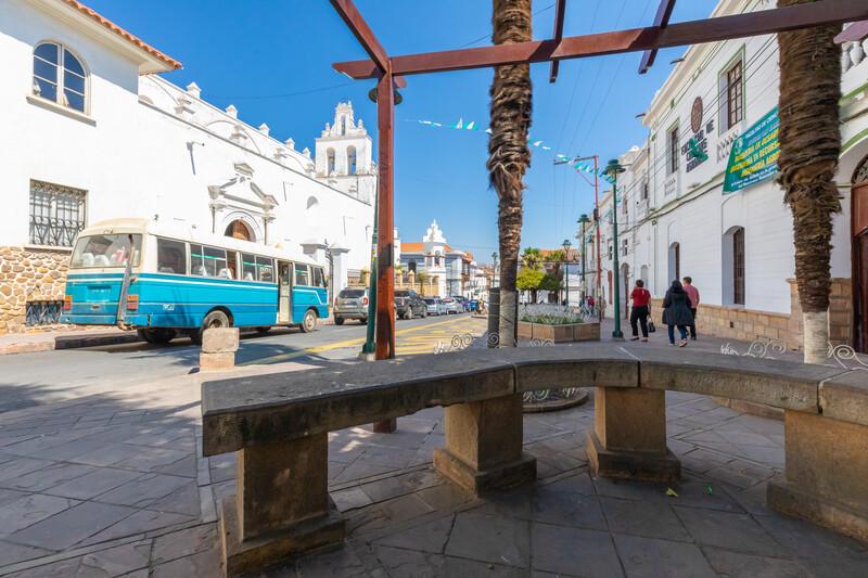 Séjour linguistique Bolivie, Sucre - Église de Santo Domingo