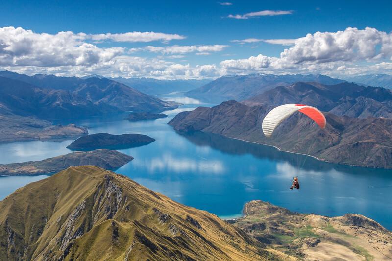 Séjour linguistique Nouvelle-Zélande - Parachute