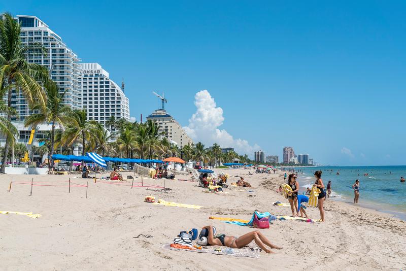Séjour linguistique États-Unis, Fort Lauderdale - Plage