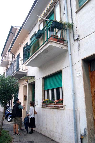 Sprachaufenthalt Italien, Viareggio - Scuola Leonardo da Vinci Viareggio - Accommodation - Apartment - Balkon