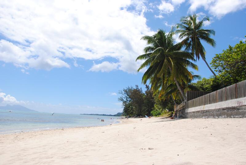 Séjour linguistique Tahiti, Punaauia - Plage