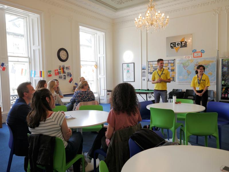 Sprachaufenthalt England, Edinburgh - CES Edinburgh - Lektionen