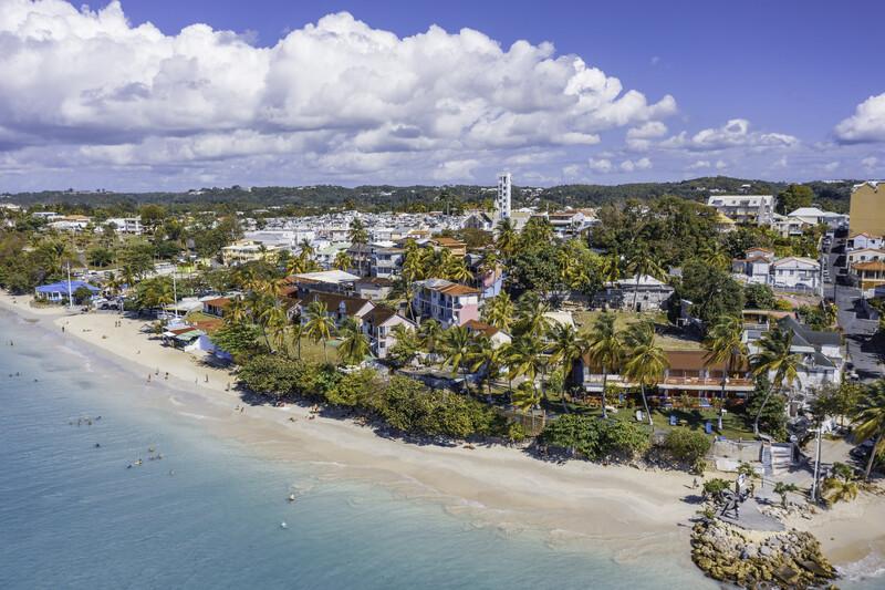 Sprachaufenthalt Guadeloupe, Le Gosier - La Datcha Strand