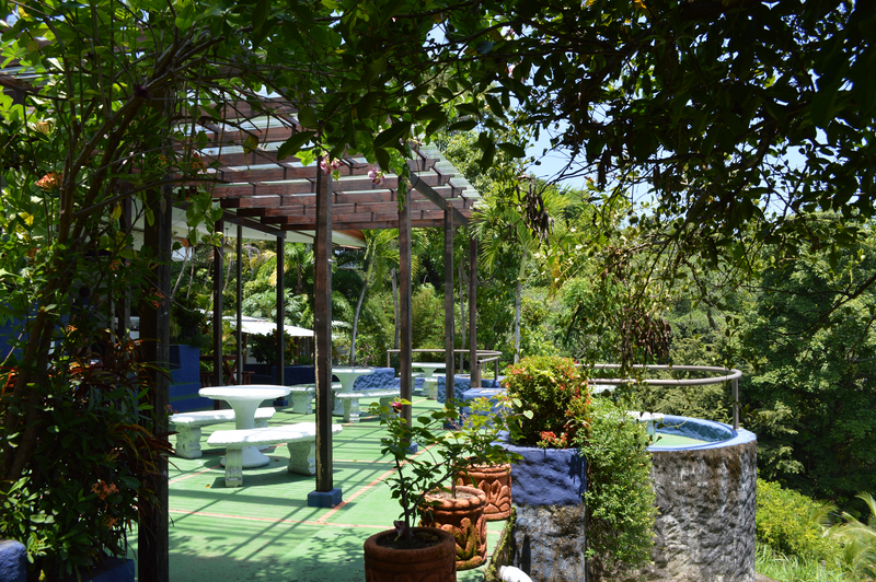 Sprachaufenthalt Costa Rica, Manuel Antonio - Maximo Nivel Manuel Antonio - Terrasse