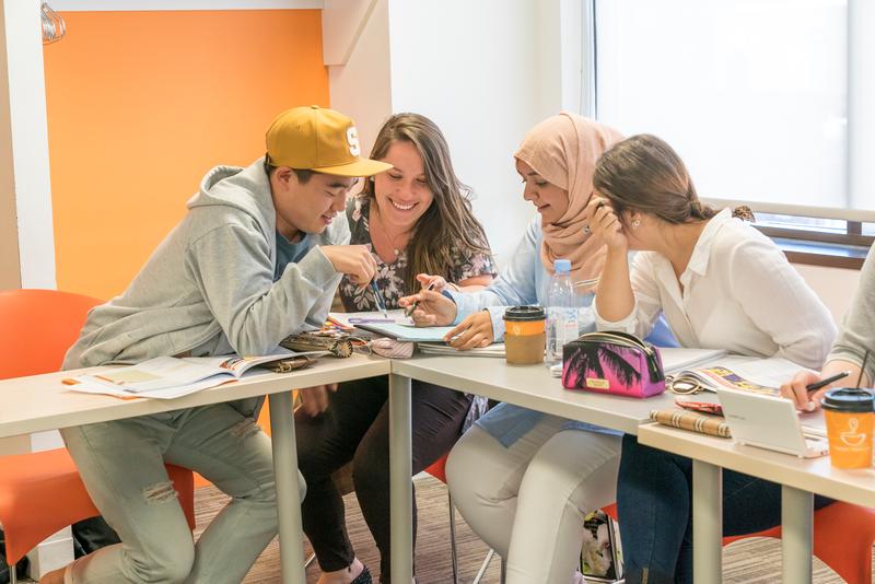 Séjour linguistique Canada, Toronto – EC Toronto, Cours de langue