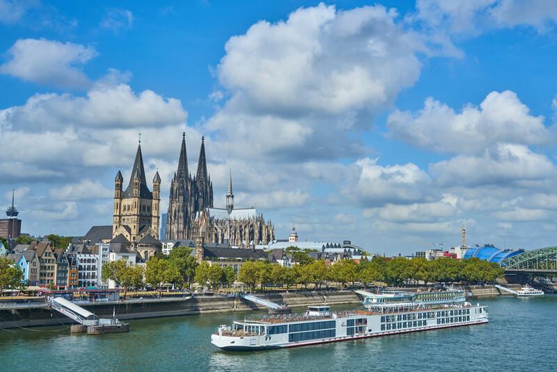 Séjour linguistique Allemand, Cologne - Excursion en bateau