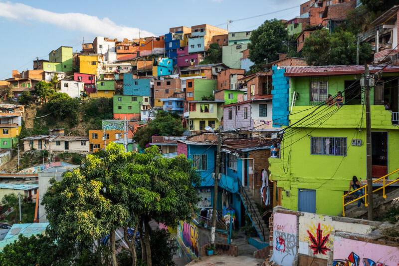 Séjour linguistique Colombie, Medellin - Comuna 13