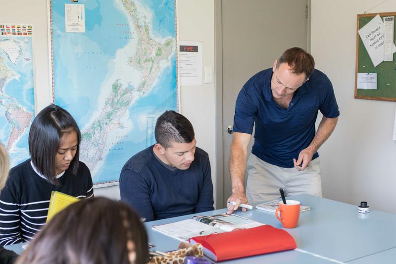 Sprachaufenthalt Neuseeland, Queenstown - ABC College of English - Lektionen
