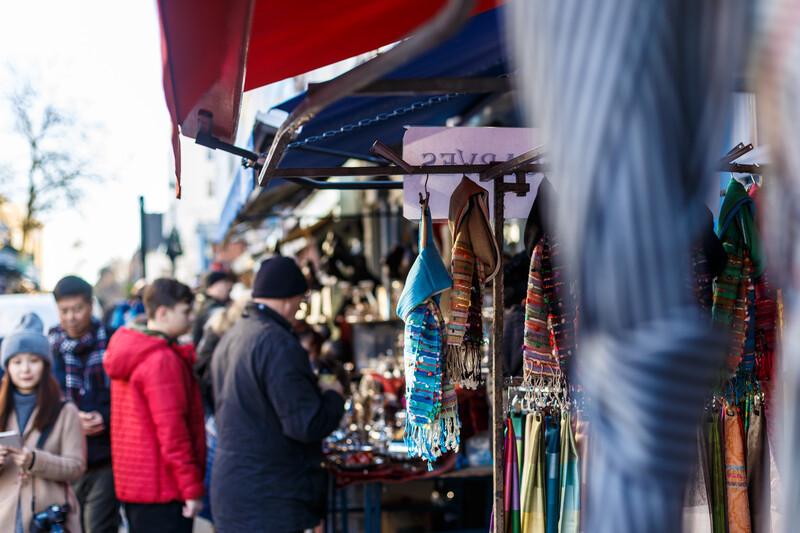 Sprachaufenthalt England, Leeds - City Market
