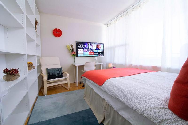 Sprachaufenthalt Kanada, Toronto - EC - Sherbourne Apartment - Schlafzimmer