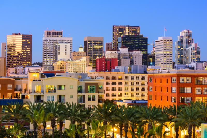 Séjour linguistique États-Unis, San Diego - Downtown
