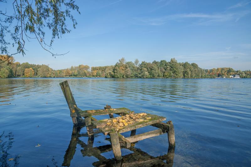 Sprachaufenthalt Deutschland, Düsseldorf - Sicht auf Unterbacher See