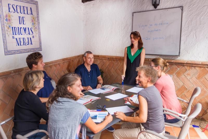 Sprachaufenthalt Spanien, Nerja - Escuela de Idiomas Nerja - Lektionen