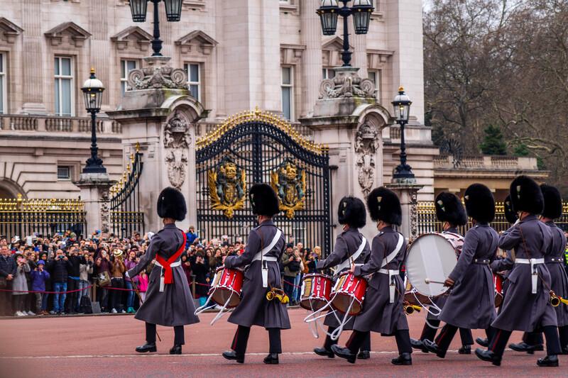 Sprachaufenthalt England, Buckingham - Queens Guard