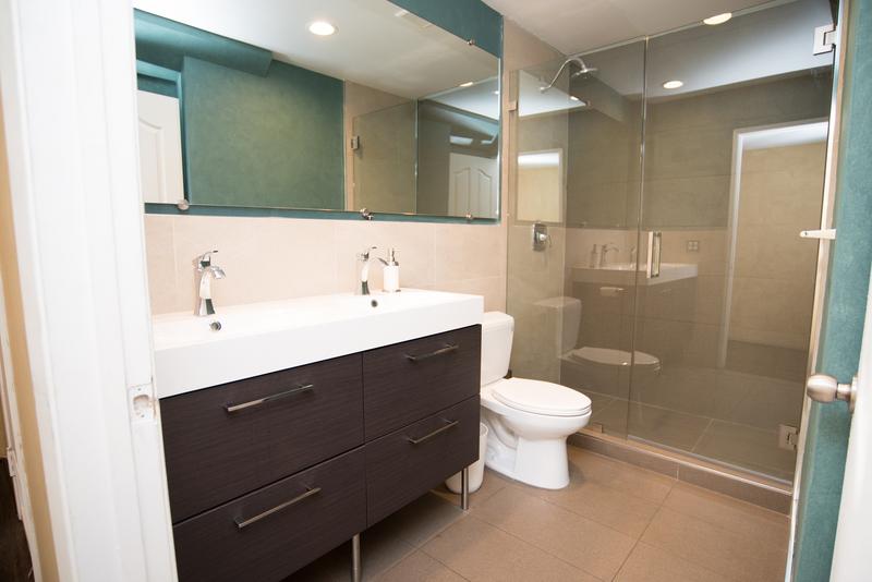 Sprachaufenthalt USA, Los Angeles - EC - Westwood Apartment - Badezimmer