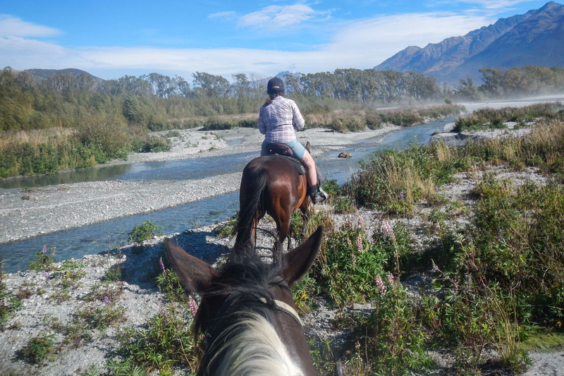 Sprachaufenthalt Neuseeland, Queenstown - Reiten
