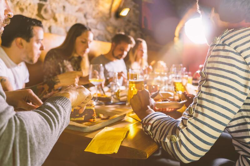 Sprachaufenthalt England, London - Dinnerparty
