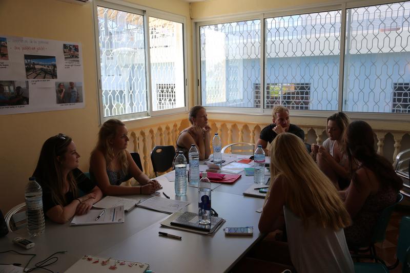 Sprachaufenthalt Guadeloupe, Le Gosier - IMLC - Lektionen