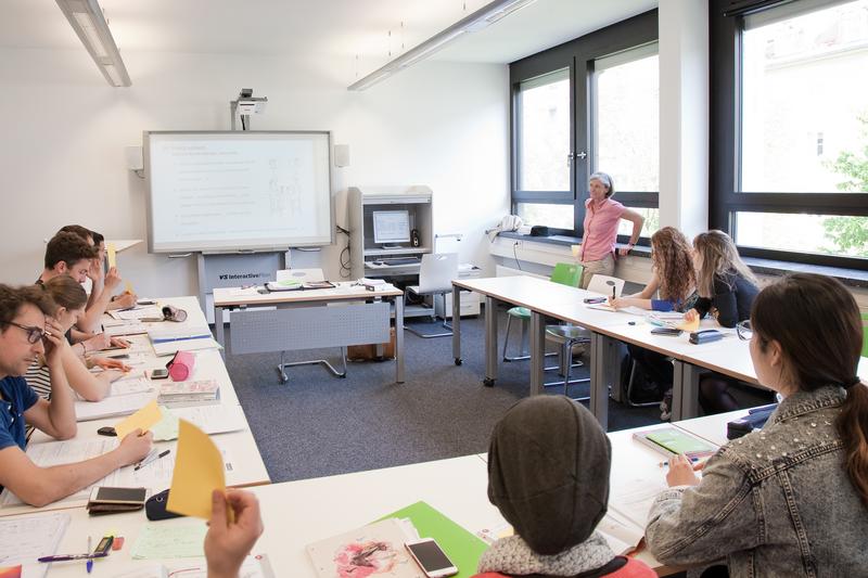 Séjour linguistique Allemagne, München - Goethe Institut München - Leçon - © Goethe-Institut Martin X. Miller