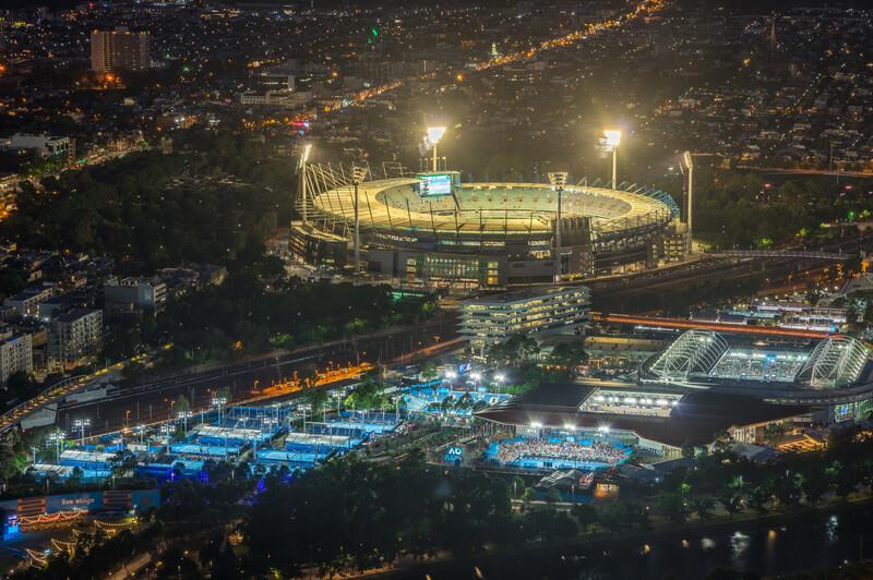 Séjour linguistique Australie, Melbourne - Australien Open