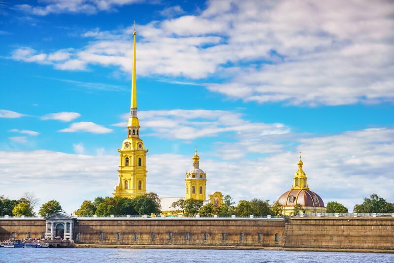 Séjour linguistique Russie, St. Petersburg - Forteresse Peter et Paul