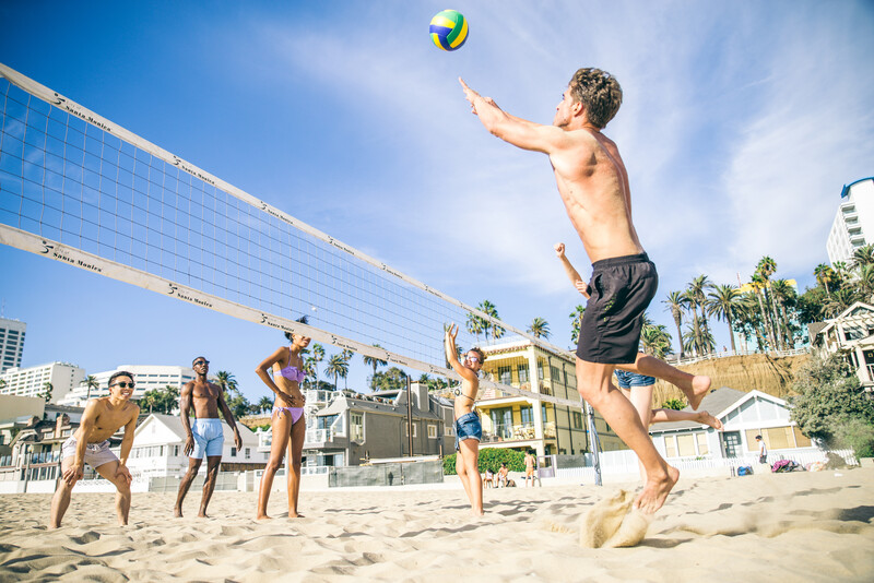 Sprachaufenthalt USA, Los Angeles - Beachvolleyball
