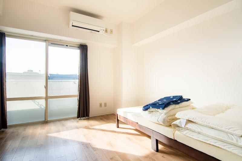 Sprachaufenthalt Japan, Kyoto - Genki Japanese School Kyoto - Accommodation - Apartment2 - Schlafzimmer
