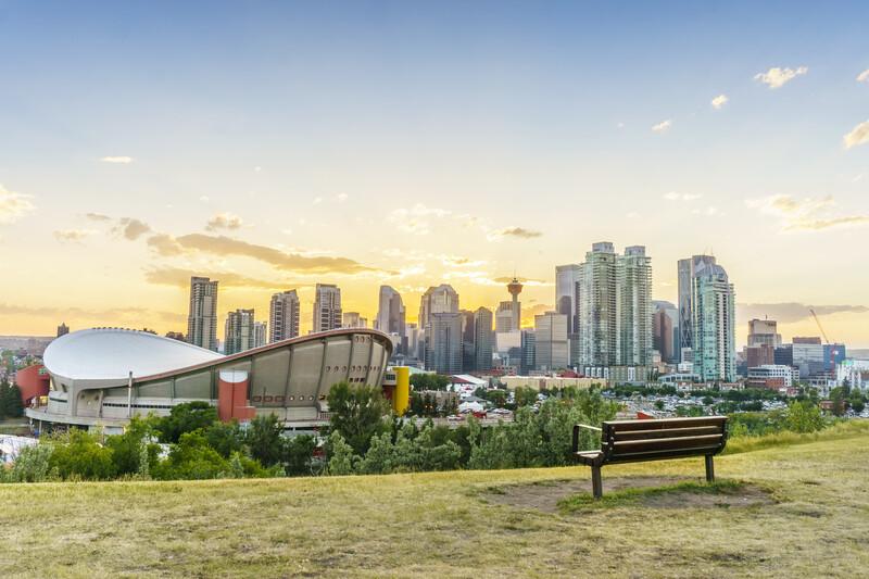 Séjour linguistique Canada, Calgary - Scotiabank Saddledome