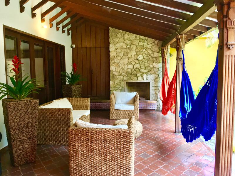 Séjour linguistique Colombie, Medellin - Centro Catalina Spanish School Medellín - Terrasse