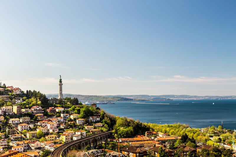 Sprachaufenthalt Italien, Triest - Leuchtturm