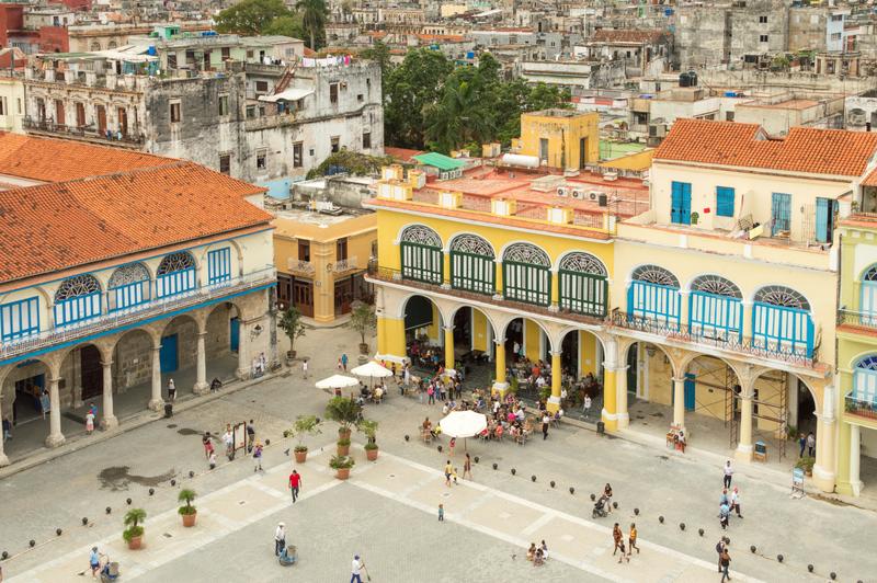 Sprachaufenthalt Kuba, Havanna - Platz