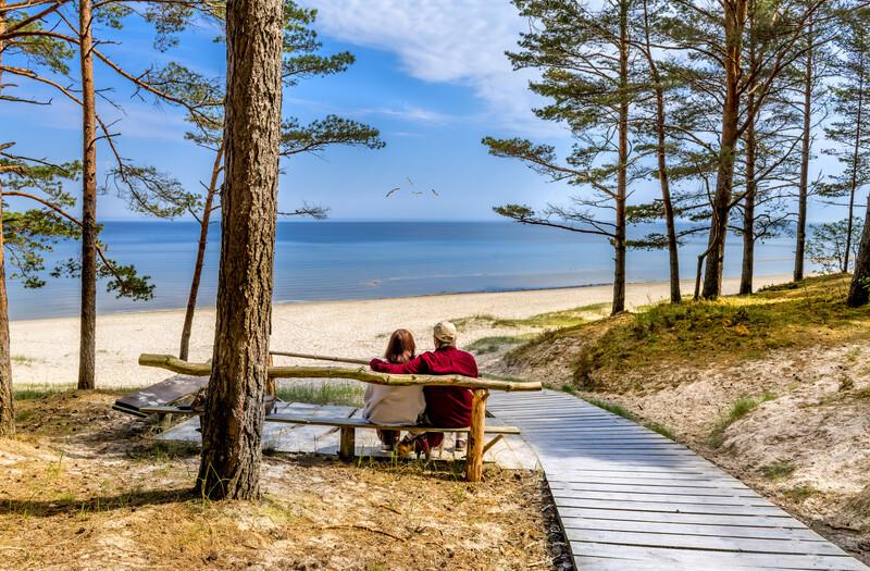Sprachaufenthalt Lettland, Strand