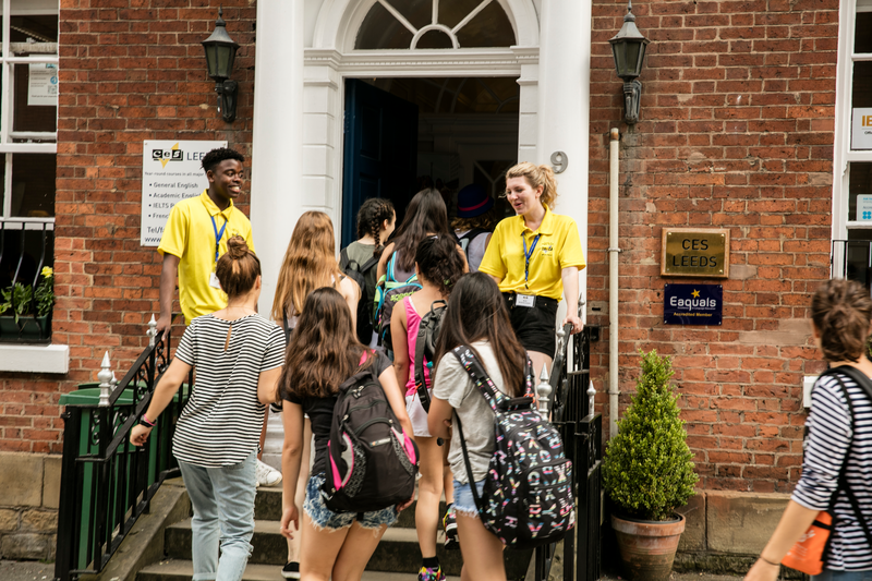 Sprachaufenthalt England, Leeds - CES Leeds - Studenten