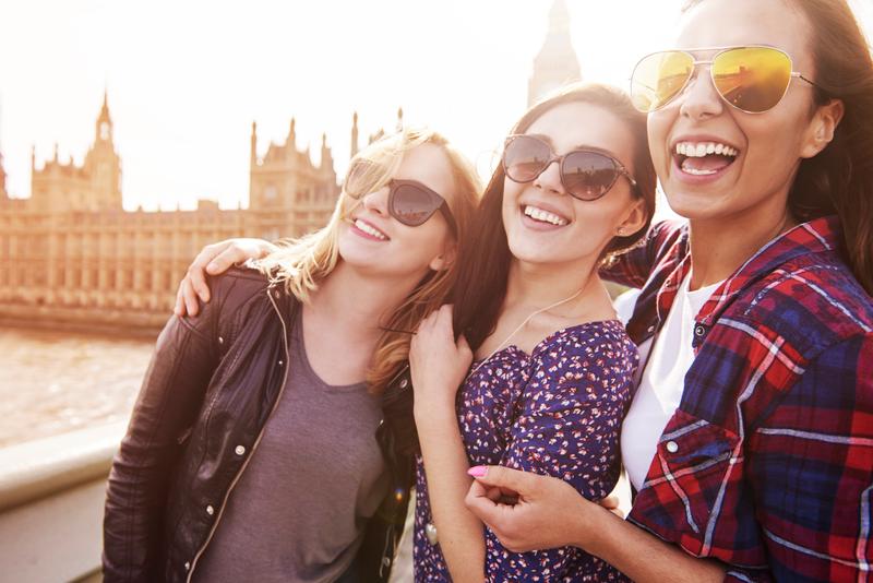 Sprachaufenthalt England, London - Studenten
